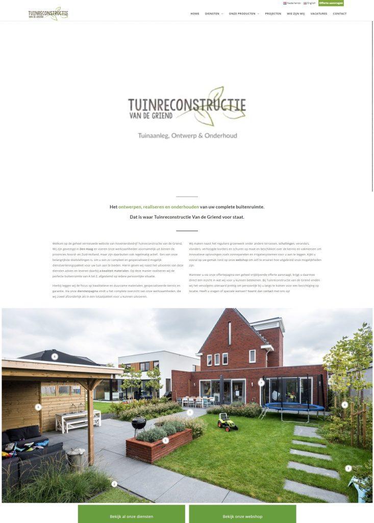 Tuinreconstructie